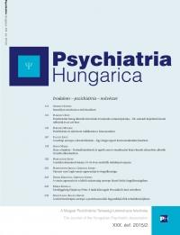 Psychiatria Hungarica (borító)